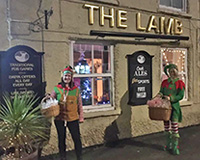 Lamb Inn at Christmas
